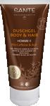 Homme II Gel doccia corpo e capelli 2 in 1 – Caffeina e bacca Açai bio